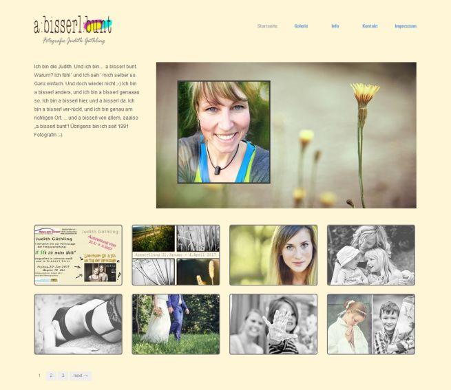 Projekt Homepage a-bisserl-bunt
