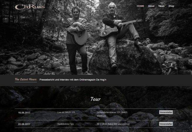 Projekt Rockband ChRuss