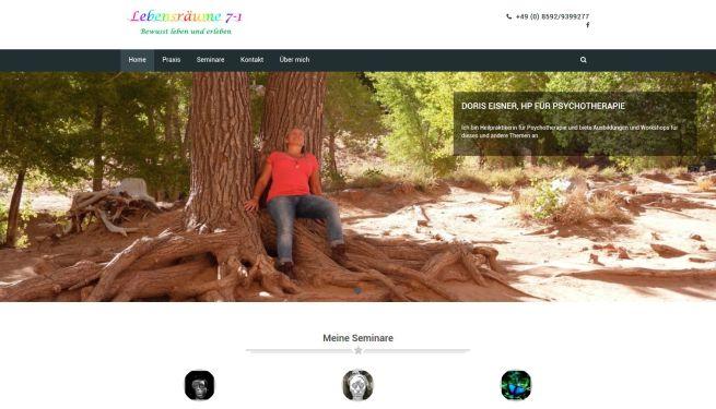 Projekt Praxis Homepage
