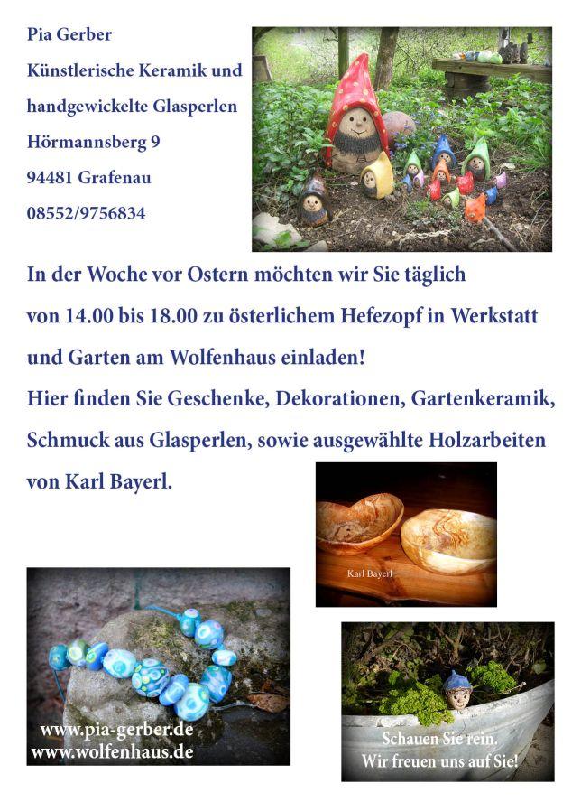 Flyer für Ostern Rückseite
