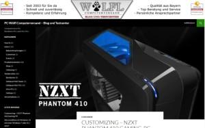Webdesign für IT-Blog