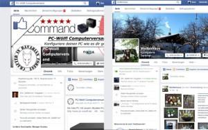 Webdesign für Social-Media