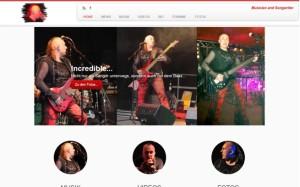 Webdesign für eine Künstlerseite