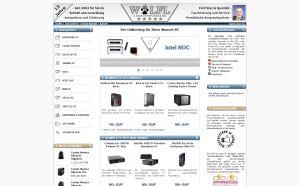 Webdesign IT-Onlineshop