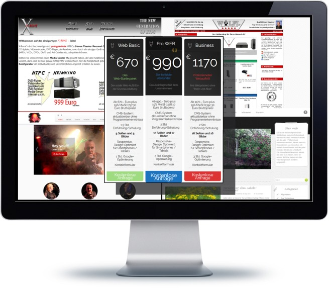 Homepage - Preise und Angebote